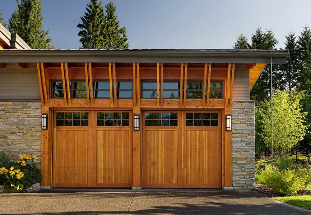 Wood Light Garage Doors Norfolk